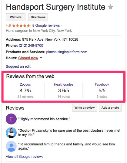 patient-reviews-google-knowledge-graph