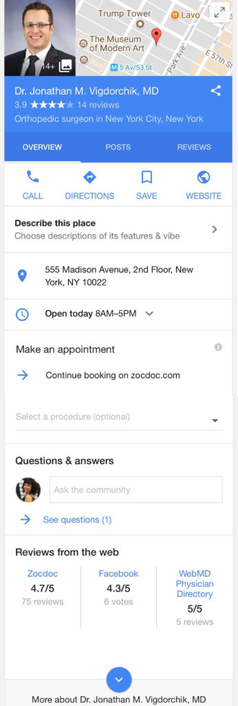Google my business questions and answers new feature 2017